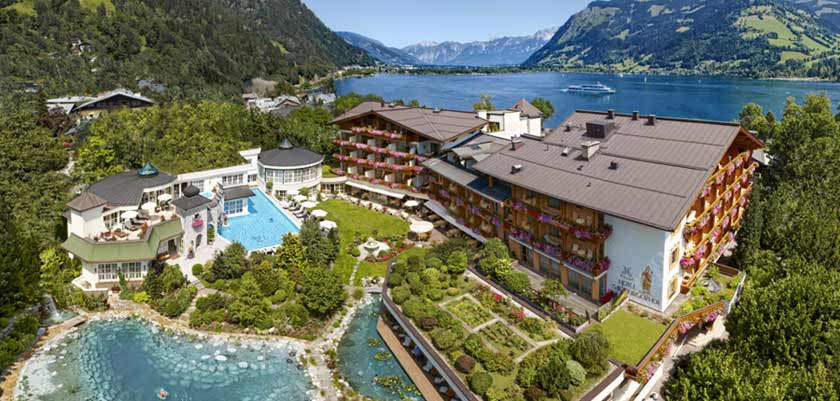 Hotel Salzburgerhof, Zell am See, Austria - hotel exterior.jpg